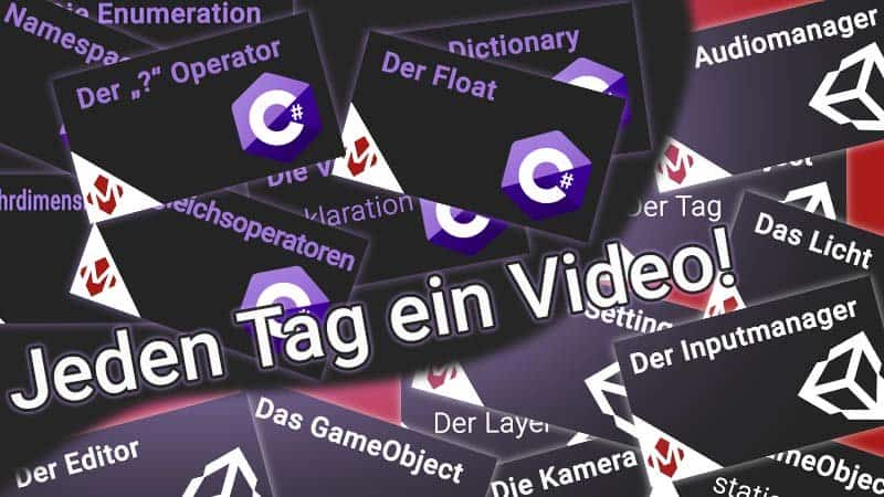 Jeden Tag ein Video auf dem YouTube-Tutorial-Kanal
