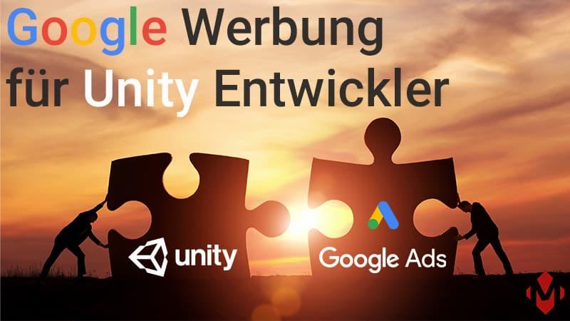 Google Werbung für Unity Entwickler