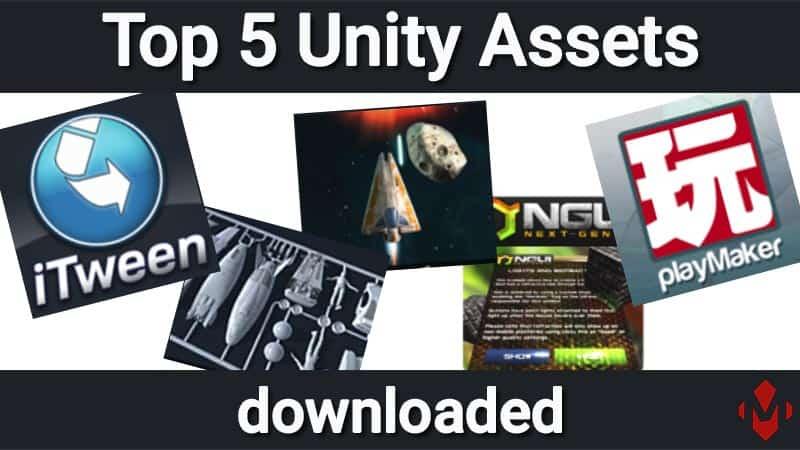 Top 5 heruntergeladene Unity Assets