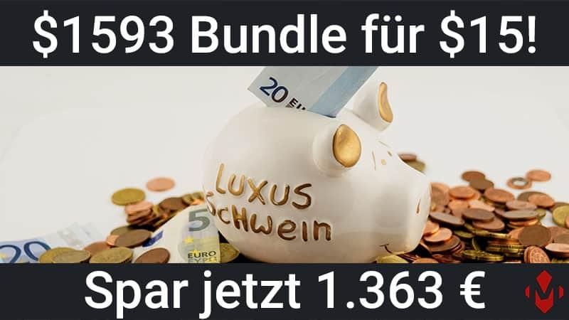 $1593 Unity Bundle für $15