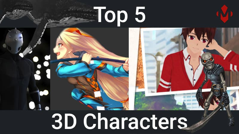 Top 5 Unity Assets – 3D Characters