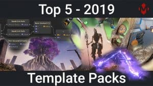 Top 5 Unity Assets – Template Packs